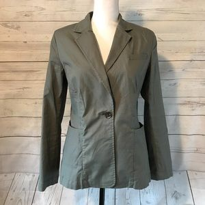CAbi Olive Jacket Style 207 Size Small S